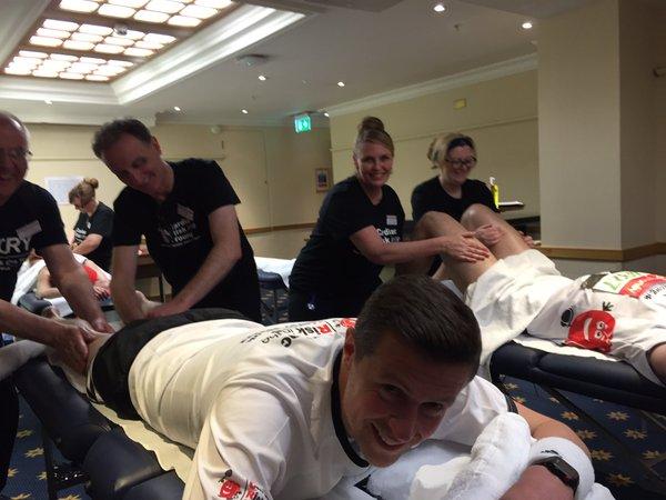 Female massage room