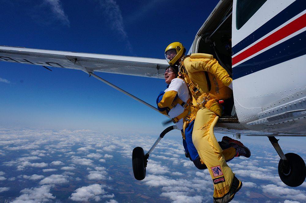Michelle kangaroo inn skydive 3