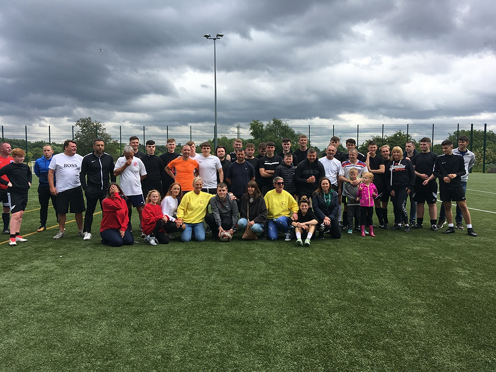 Charlie Holden Charity Match 1