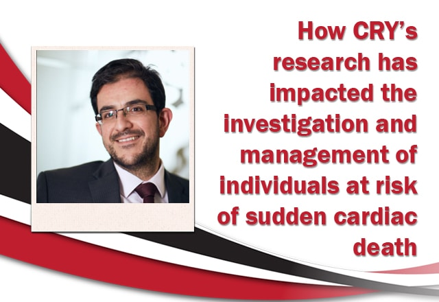 Webinar – How CRY's research has impacted the investigation and management of individuals at risk of sudden cardiac death